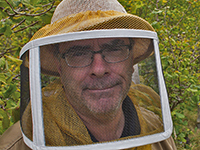 Meet Beeologist in Residence Brian Campbell