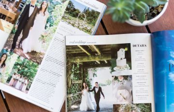 UBC Botanical Garden featured in Weddingbells' Spring/Summer 2019 Issue