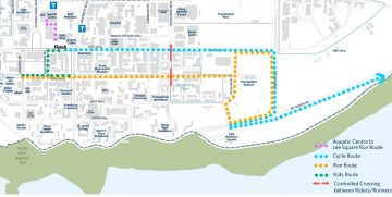 UBC Triathlon: March 7th Road closures