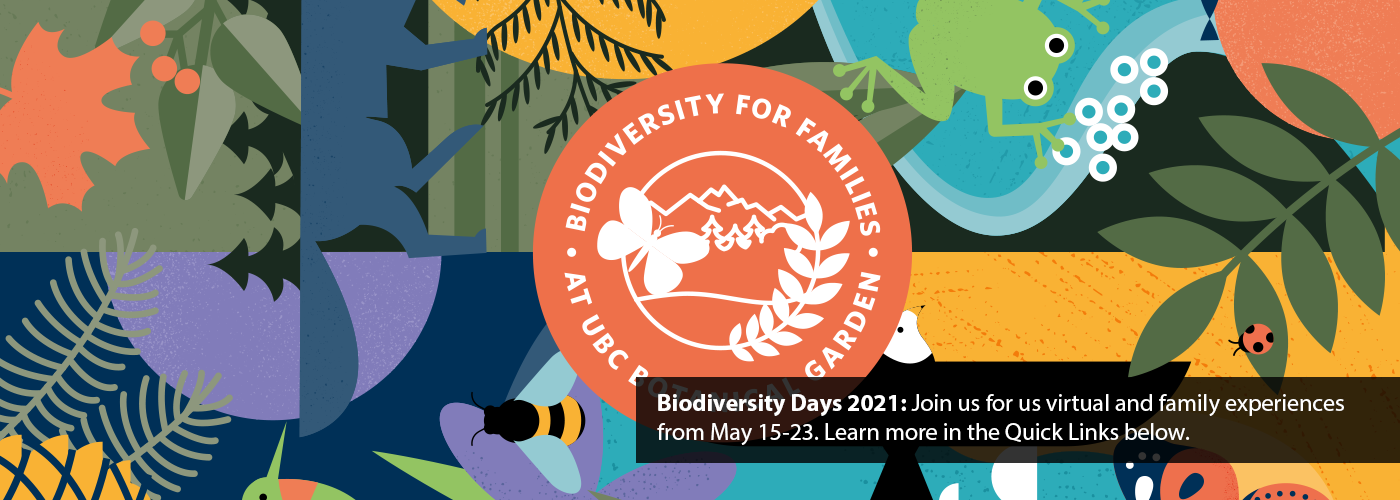 Biodiversity Days. Click the Quick Link to learn more
